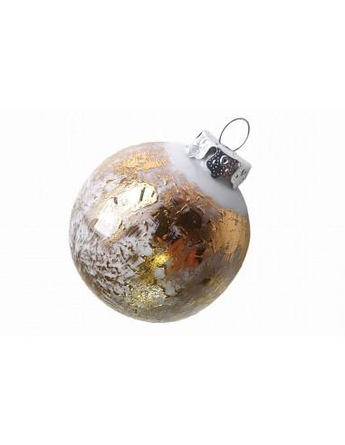Boule de noël, Collection étoilée or