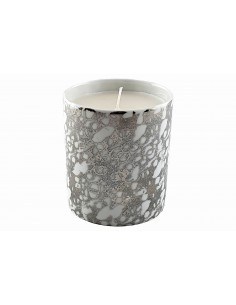 Candle, Platinum Marble...