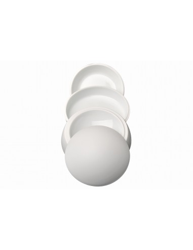 Sphere in 4 pieces, white, Collection...