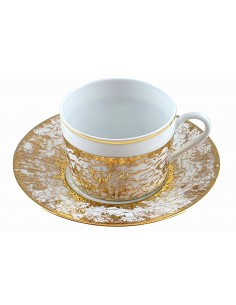 Tea cup, Starry Gold...