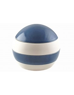 Sphère 4 pièces, blanche et...