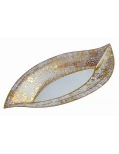 Boat dish, Gold star...