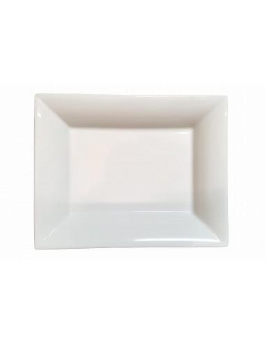 Pin tray, white enamelled, big size