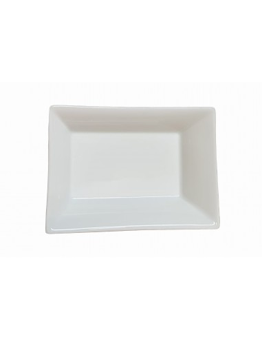 Pin tray, white enamelled, small size