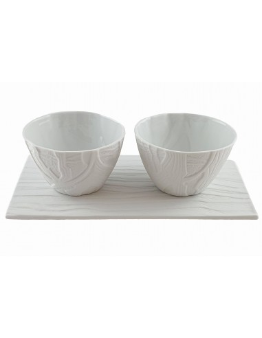 Set 2 cups + tray