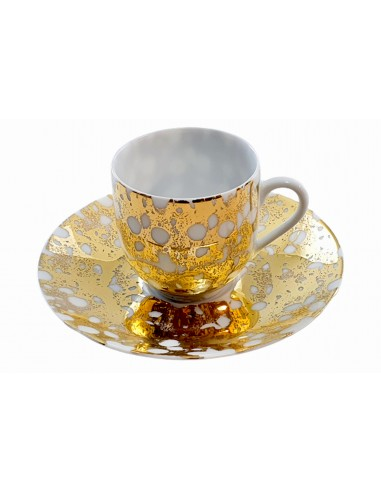 Expresso cup, Marble Gold collection