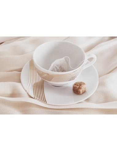 Tea cup, Gold Quantum Collection