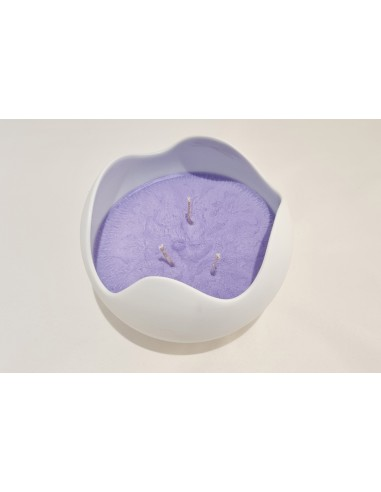 Wave candle, lavender scent