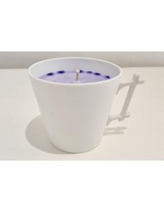Bougie mug, senteur lavande