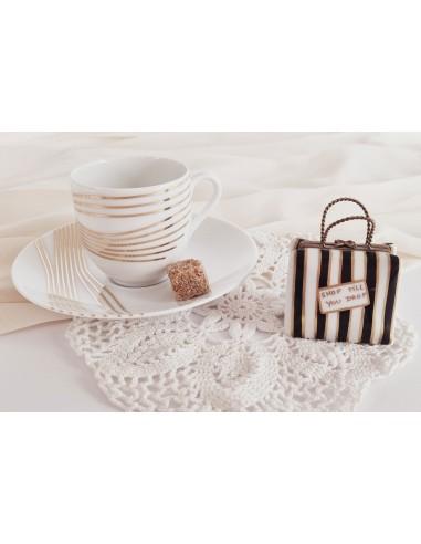 Tasse à café, Collection Quantique or