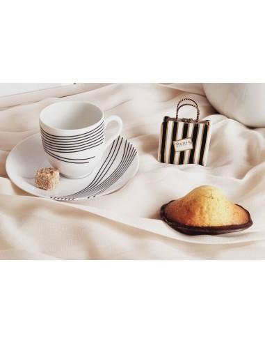 Tasse à café, Collection Quantique noir