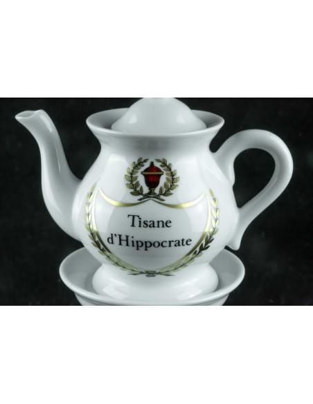 Tisanière, tisane d'Hippocrate