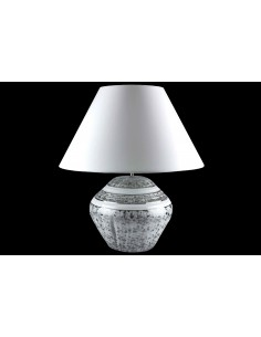 Lampe Isabelle grand modèle, collection Etoilée Platine