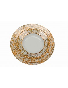 Flat plate, collection étoilé gold