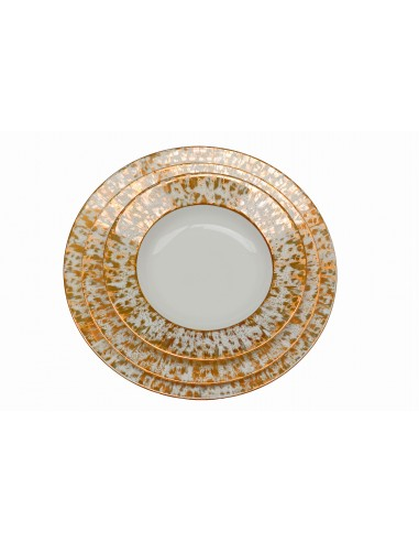 Flat plate, Starry Gold collection