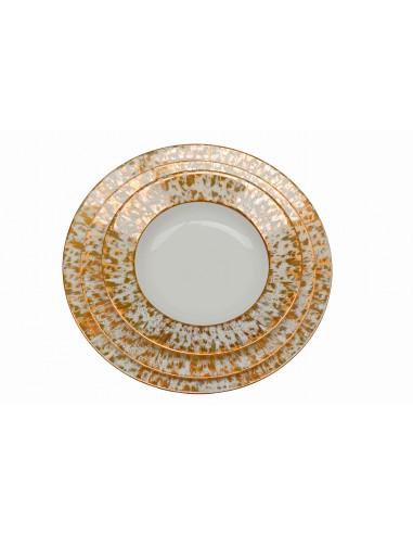 Flat plate, collection étoilé gold
