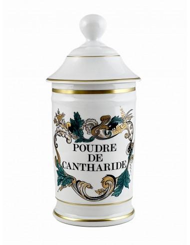 Pot à Pharmacie Poudre de Cantharide