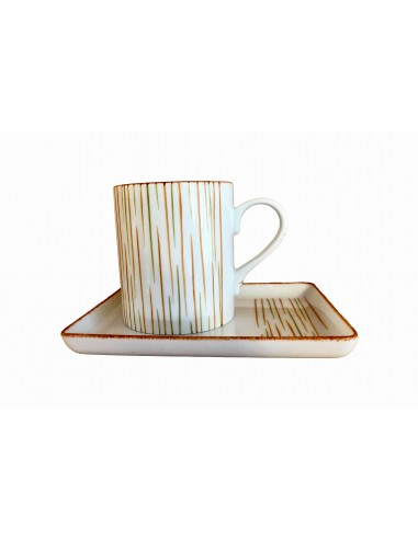 Round mug and tray set, fall collection