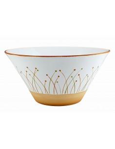 Conical salad bowl,...