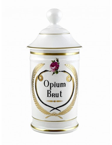 Pot à Pharmacie Opium Brut