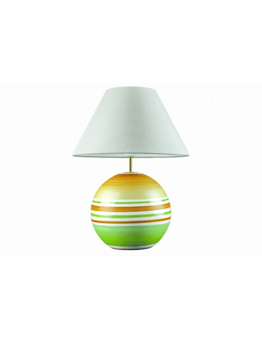 Lamp ball, orange and green