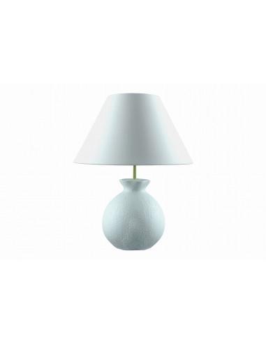 Lamp Gabin, white glazing effect
