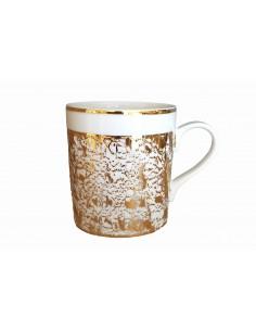 Round mug, Starry Gold...